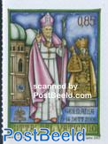 Pope travels 1v s-a (from booklet)