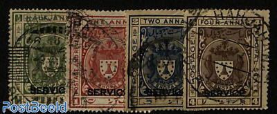 Bhopal, On service, Coat of arms 4v