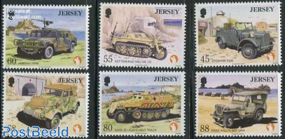 Military vehicles 6v