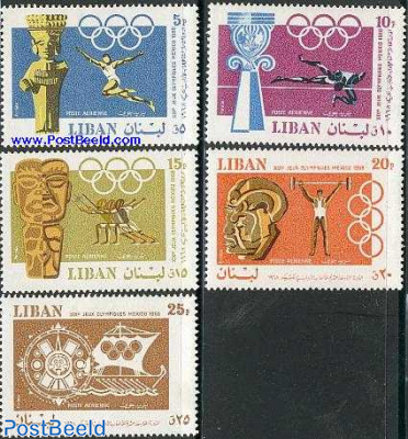Olympic games Mexico 5v