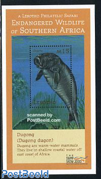 Stamp show, Dugong s/s