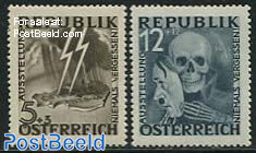 Anti-fascist exposition 2v (these 2 stamps have not come to issue)
