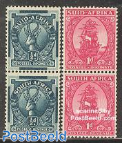Definitives, 2 pairs